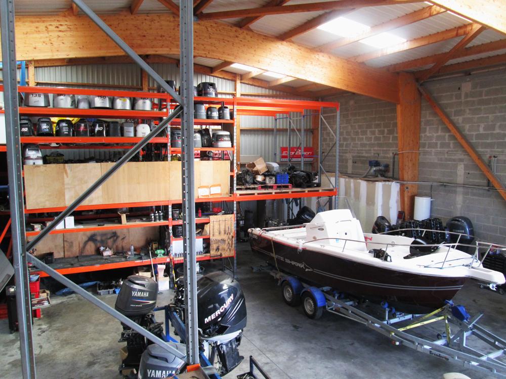 Hivernage moteurs dans le Morbihan (56) en Bretagne