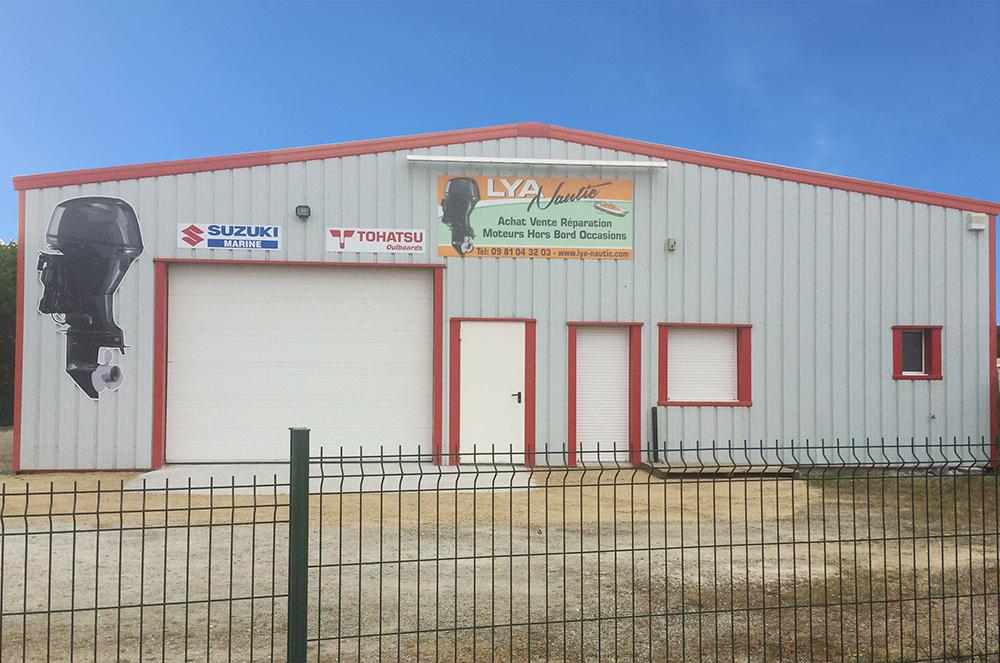 Lya Nautic vente, réparation moteurs hors bord Morbihan 56