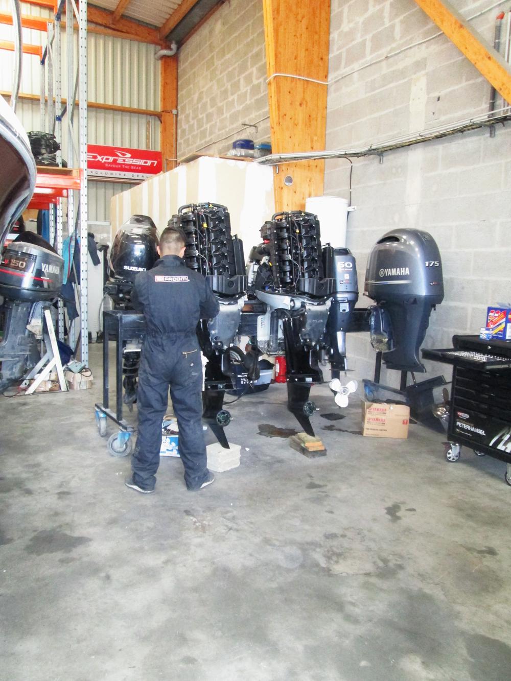 Réparation de moteurs de bateau dans le Morbihan (56) en Bretagne